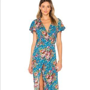 94d4280ce5 auguste Dresses | Nwt Beach House Frill Maxi Dress | Poshmark